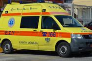 Πάτρα: Τροχαίο με έναν τραυματία στην Ελευθερίου Βενιζέλου