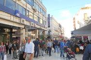 Κόσμος και αγοραστική διάθεση στο κέντρο της Πάτρας (pics)