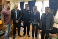 Eπίσκεψη των Πολιτικών Υπαλλήλων στο Γενικό Περιφερειακό Αστυνομικό Διευθυντή Δυτικής Ελλάδας