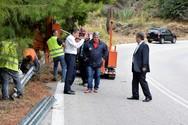 Αχαΐα: Αυτοψία Αλεξόπουλου & Δριβίλα στο δρόμο Αργυρά - Σελλά - Πιτίτσα