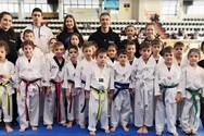 Οι μικροί αθλητές της Δύναμης Πατρών, εντυπωσίασαν με τις εμφανίσεις τους