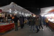 Γιορτινή ατμόσφαιρα στους μποναμάδες του Αγίου Ανδρέα στην Πάτρα!