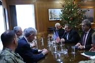 Συνάντηση Πάνου Καμμένου με τον Υποδιοικητή Ειδικών Επιχειρήσεων των ΗΠΑ (pics)