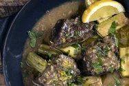 Μαγειρέψτε μοσχάρι λεμονάτο με κολοκύθια