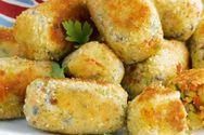 Ψητές κροκέτες λαχανικών με τυρί