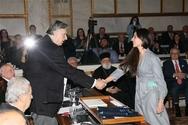 Η Πατρινή πιανίστρια Μαριλένα Σουρή τιμήθηκε από την Ακαδημία Αθηνών