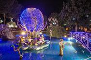 Πάρκο των Χριστουγέννων: Αυλαία με την καθιερωμένη κοπή της Πρωτοχρονιάτικης Πίτας