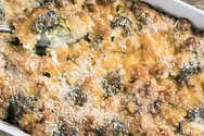 Συνταγή για κοχύλια στο φούρνο με τυριά και μπρόκολο