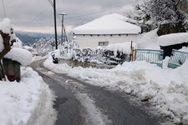 Εύβοια: Πέθανε αβοήθητος σε αποκλεισμένο χωριό