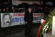 Πάτρα - Η Δημοτική Αρχή κατέθεσε στεφάνι στο μνημείο του Νίκου Τεμπονέρα!