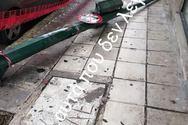 Πάτρα: Στύλος φωτεινού σηματοδότη βρίσκεται στο έδαφος εδώ και δύο μέρες