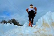 Κρητικός μαραθωνοδρόμος έτρεξε ξυπόλητος στον Ψηλορείτη (video)