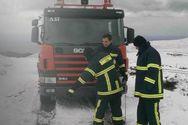 Καλάβρυτα: Απεγκλώβισε τρία άτομα η Πυροσβεστική στην Άνω Βλασία
