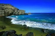 Μια παράξενη παραλία στη Χαβάη