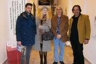Πάτρα: Με επιτυχία τα εγκαίνια της έκθεσης του Νίκου Κρυωνίδη