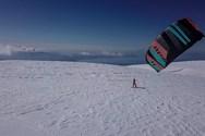 Ένα υπέροχο βίντεο - Snowkite στο Αιολικό Πάρκο του Παναχαϊκού
