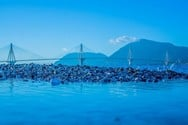 13+1 φωτογραφίες που αποτυπώνουν μια άλλη εικόνα της Γέφυρας Ρίου - Αντιρρίου!