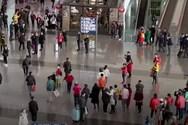 Flash mob στο αεροδρόμιο του Πεκίνου (video)