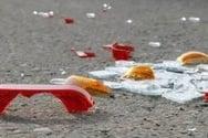 Τροχαίο ατύχημα στην Πάτρα με σύγκρουση οχημάτων