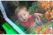 ΗΠΑ - Αγοράκι εγκλωβίστηκε σε μηχάνημα πώλησης παιχνιδιών (φωτο)