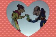 Πάτρα: Το πιο ερωτευμένο ζευγάρι του Θεάτρου Σκιών... Aγλαΐα και Καραγκιόζης (φωτο)