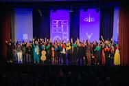 Σε εορταστικό κλίμα απονεμήθηκαν τα βραβεία του 11ου Πανελλήνιου Φεστιβάλ Σάτιρας 'Μώμος ο Πατρεύς' (φωτο)