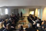 Πάτρα: Ενημέρωση εισαγγελέων και δικαστών από το ΚΕΘΕΑ Οξυγόνο