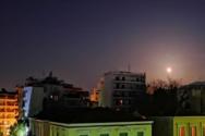 Η «σούπερ χιονισμένη σελήνη» φώτισε τον ουρανό της Πάτρας (pics)