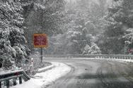 Έντονη χιονόπτωση σε Φθιώτιδα, Ευρυτανία, Καρδίτσα
