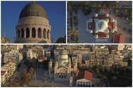 Άγιος Ανδρέας - Το ευλαβικό μνημείο της Πάτρας πανοραμικά (video)