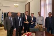 Το Επιμελητήριο Αχαΐας επισκέφτηκε ο Γερμανός Πρέσβης