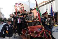 Οι Στρατηγοί του Πατρινού Καρναβαλιού βγήκαν στην ΕΡΤ - Υποδέχονται Τραμπ και Ελισάβετ