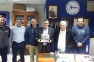 Πάτρα: Ο Αλέξανδρος Χρυσανθακόπουλος συναντήθηκε με το διοικητικό συμβούλιο του Ναυτικού Ομίλου Πατρών