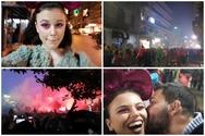 Η El Blossom ήρθε μόνη της στο καρναβάλι της Πάτρας για να... χαλαρώσει! (video)