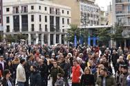Η εστίαση της Πάτρας ξεκινά αγώνα - Κόσμος στην πλατεία Γεωργίου (pics+video)