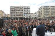 Πάτρα: Οι ομιλίες που έγιναν στην πλατεία Γεωργίου στη συγκέντρωση του ΣΚΕΑΝΑ (vids)