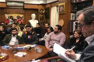 Συνάντηση Νίκου Νικολόπουλου με νέους της Πάτρας