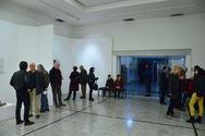 Πάτρα - Η τελευταία ανοιχτή ξενάγηση στην έκθεση του γλύπτη Διονύση Γερολυμάτου (φωτο)