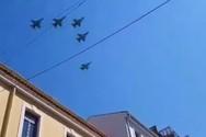 Πέντε F-16 έκαναν την Πάτρα να σηκώσει το... κεφάλι ψηλά!