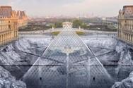 Η Πυραμίδα του Λούβρου... βουλιάζει σε κρατήρα (video)
