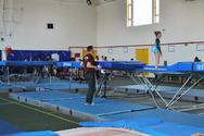 Αγώνες τραμπολίνο στην Πάτρα