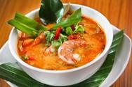 Πεντανόστιμη σούπα με καραβίδες