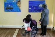 Πάτρα: Εγκαινιάστηκε η πανελλήνια έκθεση ζωγραφικής των ΚΔΑΠ ΜΕΑ (pics)