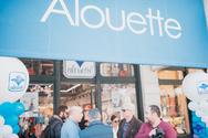 Λαμπερό opening για το κατάστημαAlouette!