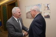 Συνάντηση ΥΕΘΑ Ευάγγελου Αποστολάκη με τον Γερουσιαστή ΗΠΑ Bob Menendez (φωτο)