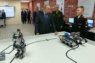 Ρομπότ κάνουν ακροβατικά και push ups για τον Πούτιν (video)