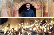 Ο Πατρινός Γιώργος Χειμαργιώτης βρέθηκε στον Πανάγιο Τάφο την ημέρα της Αναστάσεως (pics+video)