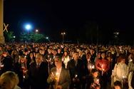 Πάτρα: Με λαμπρότητα η εορτή της Αναστάσεως στον ναό του Αγίου Ανδρέα (φωτο)