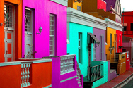 Στο Κέιπ Τάουν βρίσκεται η πιο... χρωματιστή γειτονιά