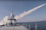 Κορβέττα κατέστρεψε πλοίο μέσα σε τρία λεπτά (video)